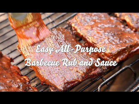 How to Make an Easy All-Purpose Barbecue Sauce and Rub