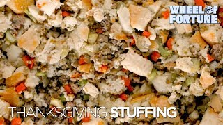 Wheel Of Fortune Thanksgiving Stuffing! | Wheel Of Fortune
