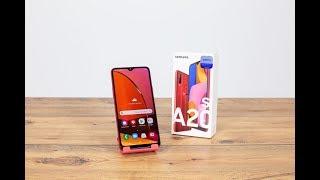 Samsung Galaxy A20s Akıllı Cep Telefon Ürün İnceleme