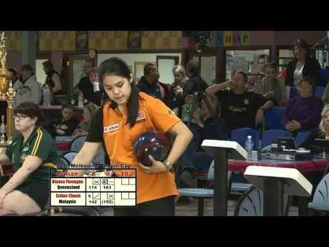 Melbourne Cup 2010 Womens Final Playoff - Esther Cheah (MALAYSIA) V's Bianca Flanagan (QLD)
