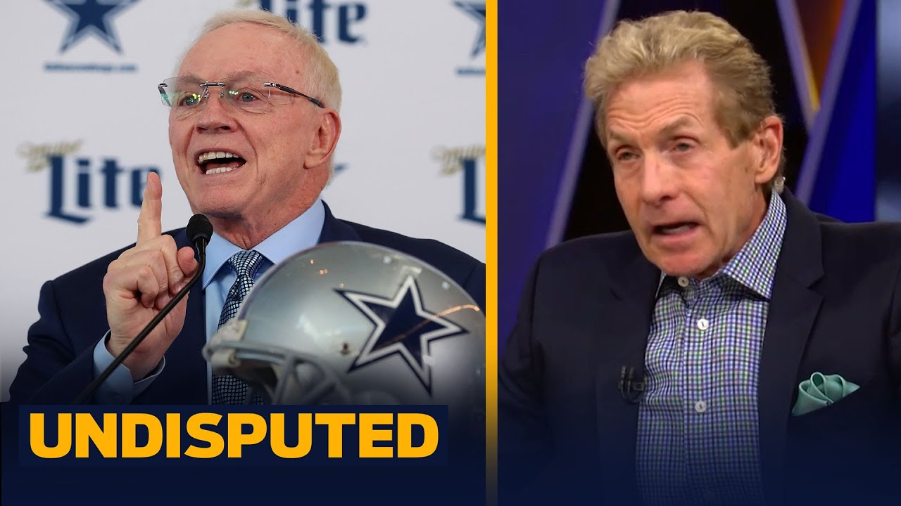 Skip & Shannon on Jerry Jones angry phone call denying Cowboys lack of leadership | NFL | UNDISP