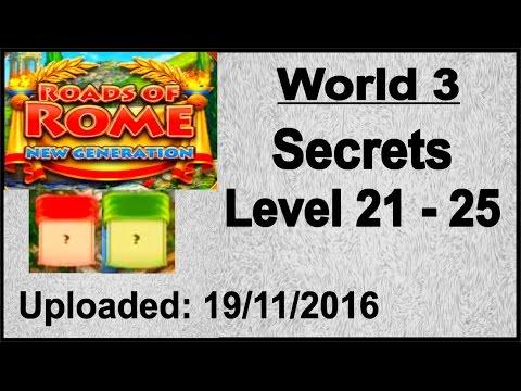 Roads of Rome - New Generation (PC) Geheimnisse, Secrets 21 - 25