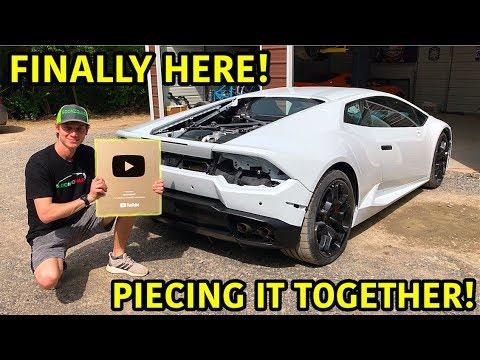 Rebuilding A Wrecked Lamborghini Huracan Part 20