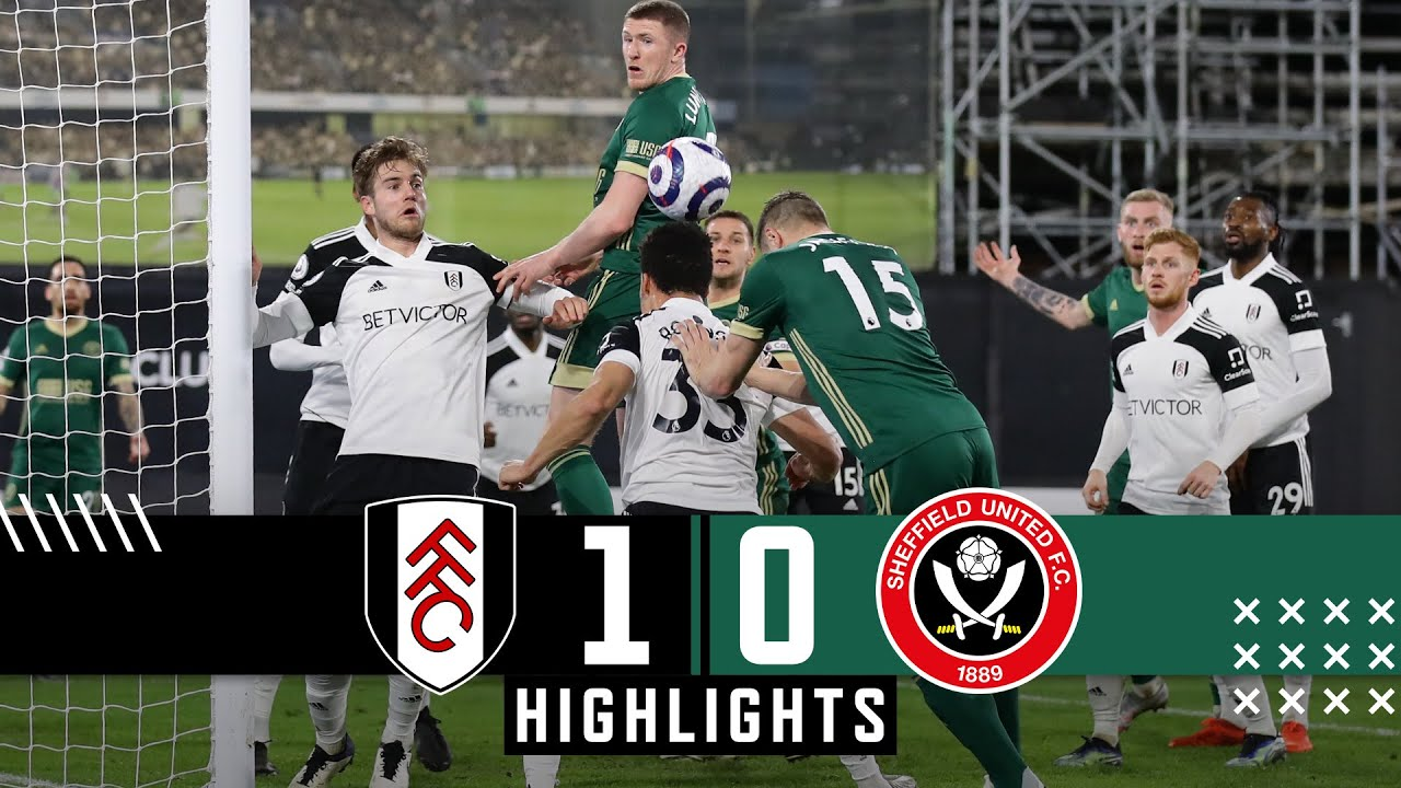 Fulham 1-0 Sheffield United | Extended Premier League highlights