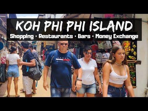 Koh Phi Phi Island Tour - 2020 Walking From Tonsai Pier to Viewpoint (Shopping, Restaurants, Tattoo)