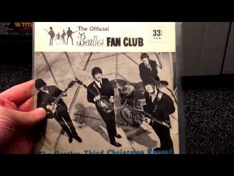 Beatles Vinyl Collection - Christmas Fan Club Flexi Singles
