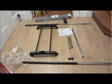 Whitmor Garment Rack Time-lapse Assembly - YouTube
