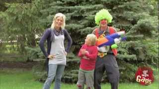 Water Gun Clown Prank