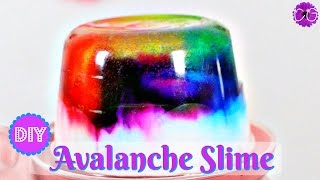 Video DIY AVALANCHE SLIME!  NO BORAX NEEDED! download MP3, 3GP, MP4, WEBM, AVI, FLV November 2017