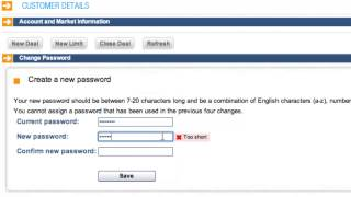 iFOREX education: How do I change my password?