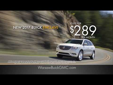 Lease a new 2017 Buick Enclave for just $289 per month!