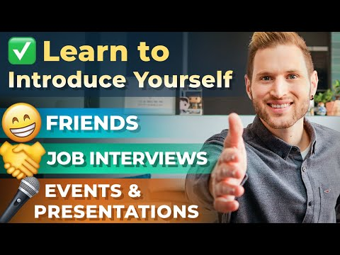 How to Have the Perfect Self Introduction in English | FREE TRAINING