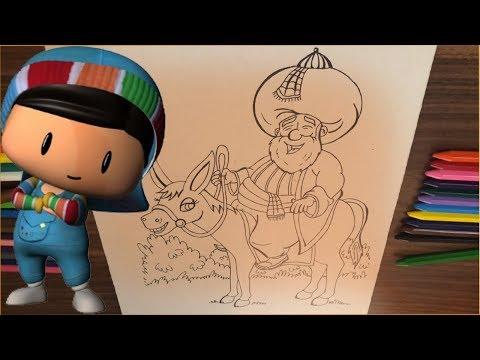 Download Pepe Ile Nasreddin Hoca çizim Ve Boyama çocuklar Için