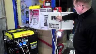 видео Автозапуск для генератора своими руками схемы и монтаж