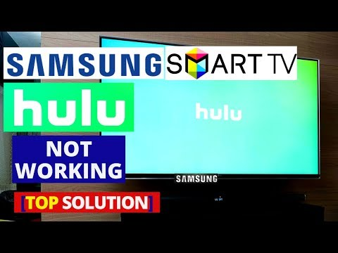 How To Fix Hulu App Not Working On Samsung Smart TV | Why Is My Hulu Not Working On Samsung Tv