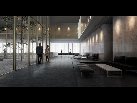 How I did this Architecture Lobby in Unreal Engine - Archviz in UE4 Tutorial