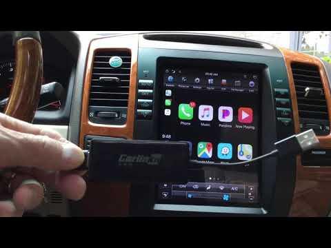 Wireless Carplay For Android Radio - Lexus GX 470