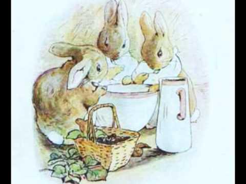 a book report on peter rabbit sheet music