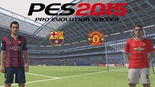 PES 2015 - Mi primer partido Online, Falcao el salvador del Manchester United