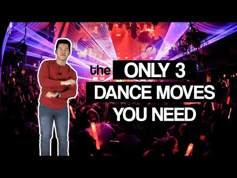 How to dance at a Club CRASH COURSE for guys! | 2019 Dance Crash Course