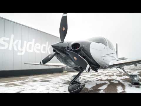 Winter Flying - Cirrus SR22 Turbo G5 flight into known icing