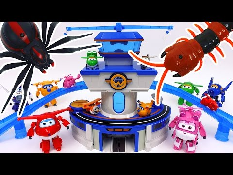 Thumbnail: Go Go Super Wings~! World Airport is Under Attack by Monsters