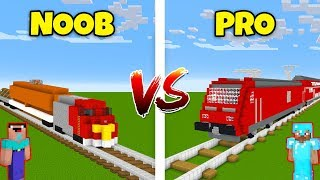 Minecraft NOOB vs. PRO: TRAIN in Minecraft! AVM SHORTS Animation