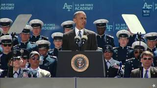 President Obama Addresses the 2016 U.S. Air Force Academy Graduates