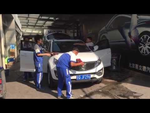 Traveller: China, Beijing, Carwash
