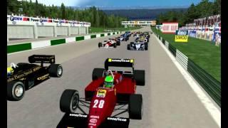 Start 1985 Osterreichring Austria Zeltweg Austrian Grand Prix Formula 1 Season Turbo Mod com uma ligeira diminuição full Race F1 Challenge 99 02 game year F1C 2 GP 4 3 World Championship 2012 rFactor 2013 2014 2015 10 26 21 20 04 93 9