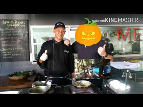 Balinese Cooking Class At  Bali Island Luxury Resort  Indonesia*(Body Reveal)