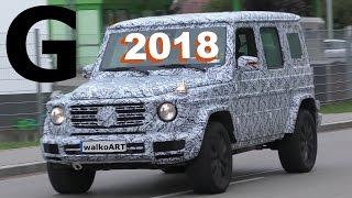 """""""فيديو"""" رصد سيارة مرسيدس بنز G موديل 2017 بتمويهات كثيفة Mercedes-Benz G"""