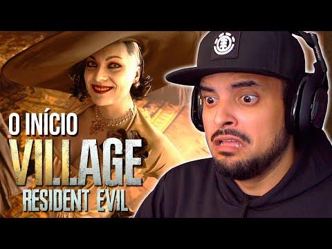 RESIDENT EVIL VILLAGE - O INÍCIO ASSUSTADOR | GAMEPLAY no Playstation 5 Dublado em Português PT-BR