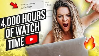 CREATE A BINGEABLE YOUTUBE CHANNEL (4000 HOURS OF WATCH TIME AND BEYOND!)