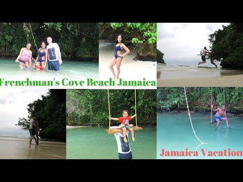 VLOG: JAMAICA VACATION || FRENCHMAN'S COVE BEACH || PORTLAND || BOSTON JERK