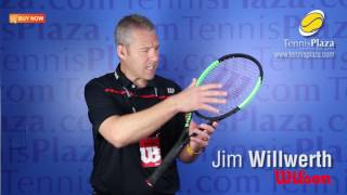 New Wilson Blade 98 CV 18x 20 Tennis Racquet Overview | Tennis Plaza