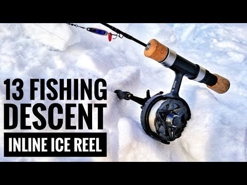 13 Fishing Descent Inline Ice Reel | Gear Review