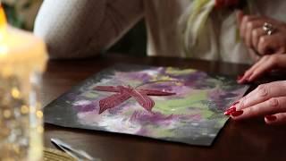 Floral Collage with Marina Rozhkova. Oshibana RozMarina