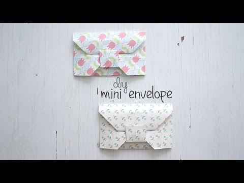 DIY: Mini Envelope