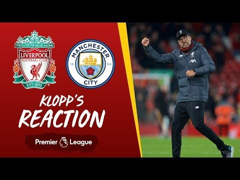 Klopp's Reaction: 'It was intense from the first minute' | Liverpool v Man City