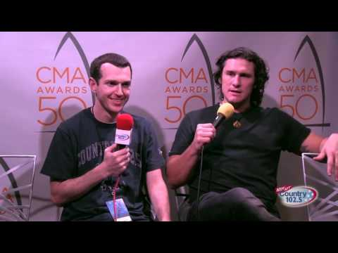 The 50th Annual CMA Awards Broadcast: Joe Nichols Interview