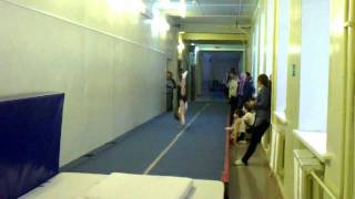 спортивная гимнастика - вольные упражнения