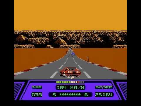 Rad Racer NES - No Continue Run