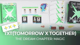"Baixar Unboxing TXT(TOMORROW X TOGETHER) ""The Dream Chapter: MAGIC"" 1st album 언박싱 Kpop Ktown4u"