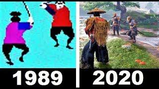 武士 ゲーム - 進化の軌跡 1989~2020 これは、1989年から2020年までのサムライゲームの進化と歴史であり、新しいサムライゲームがリリースされます...