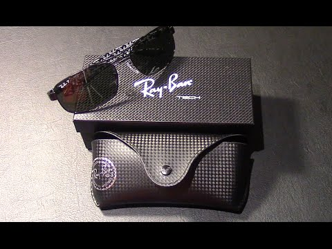 Unboxing the Ray-Ban Tech 8316 Polarized Sunglasses