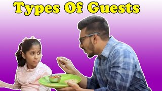 Types Of Guests | Funny Video | Pari's Lifestyle