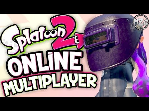 Welding Mask! Salmon Run! - Splatoon 2 Online Gameplay - Episode 32