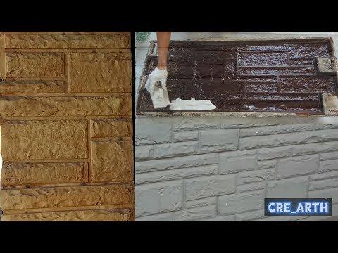 3D Wall Panels Gypsum  || Stones Form