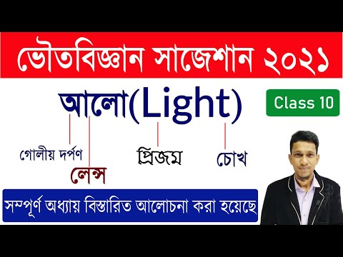 Madhyamik Physical Science Suggestion 2021 | Class 10 Light Suggestion 2021 |physics Suggestion 2021
